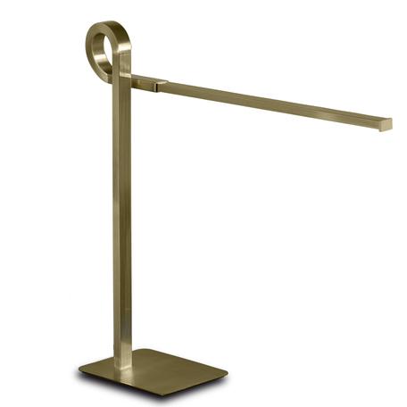Настольная лампа Mantra Cinto 6141, бронза, белый, металл, пластик