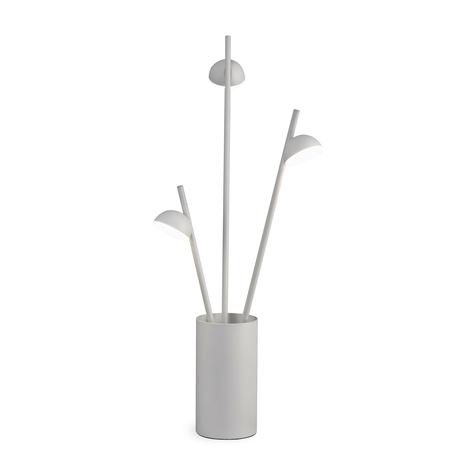 Настольная лампа Mantra ADN 6267, белый, металл, пластик