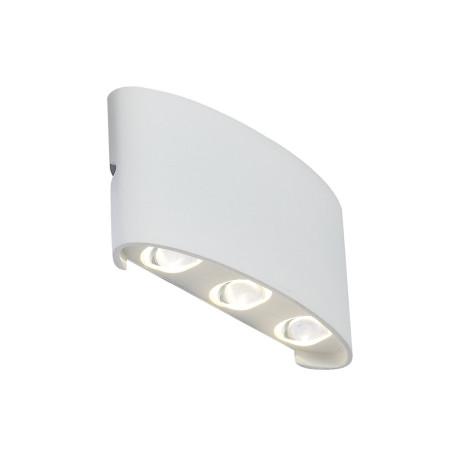 Настенный светодиодный светильник ST Luce Bisello SL089.501.06, IP54, LED 6W 4000K, белый, металл