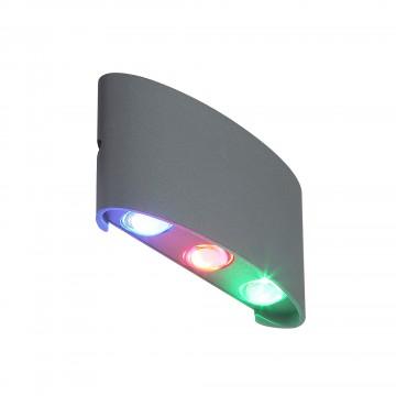 Настенный светодиодный светильник ST Luce Bisello SL089.711.06, IP54, LED 6W RGB
