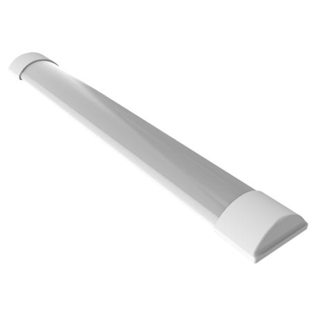 Потолочный светодиодный светильник Gauss 844424218, LED 18W 4000K 1250lm CRI70, белый, металл, пластик