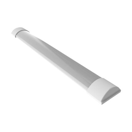 Потолочный светодиодный светильник Gauss 844424318, LED 18W 6500K 1260lm CRI70, белый, металл, пластик