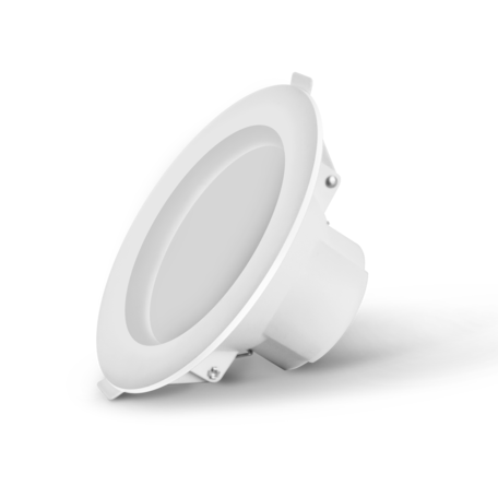 Светодиодная панель Gauss 927420109-S, LED 9W 3000K 700lm CRI80, белый, пластик
