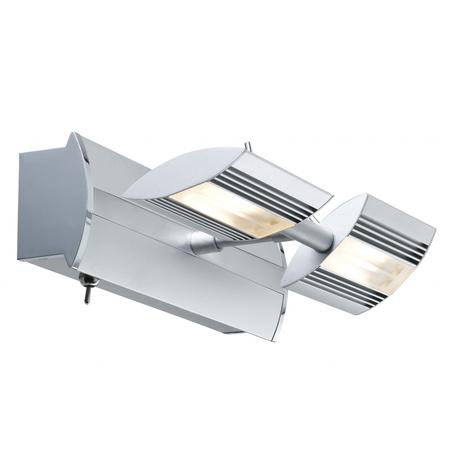 Настенный светодиодный светильник с регулировкой направления света Paulmann Linear 66191, LED 14W, металл