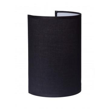 Настенный светильник Topdecor Crocus Glade A2 10 02, 1xE14x40W, белый, черный, металл, текстиль