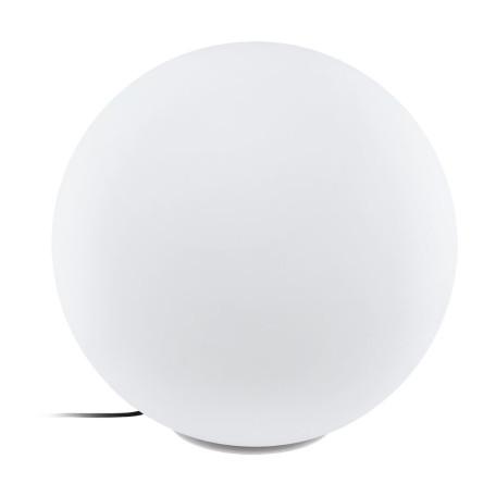 Садовый светильник Eglo Monterolo 98104, IP65, 1xE27x40W, белый, пластик