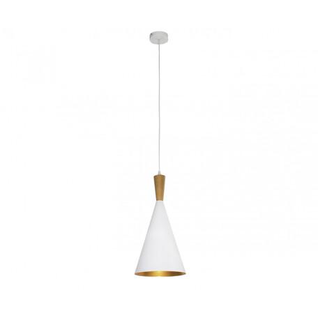 Подвесной светильник Kink Light Лима 08347-1,01, 1xE27x40W, белый, металл