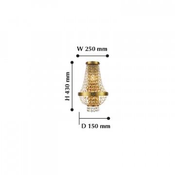 Схема с размерами Favourite 2091-3W