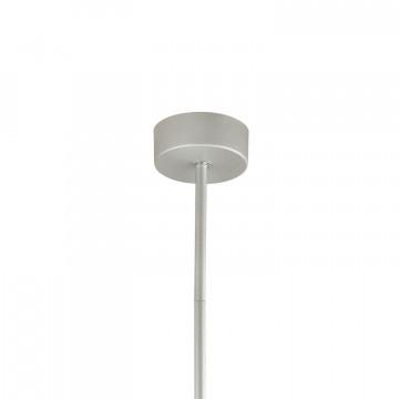 Светодиодная люстра с регулировкой направления света на составной штанге Favourite Cornetta 2123-12P, LED 36W 3000K, серебро, хром, металл - миниатюра 3