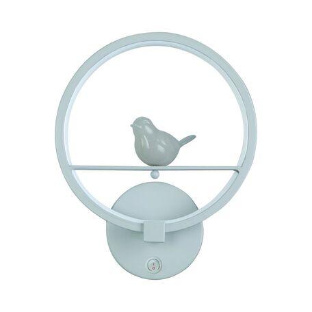 Настенный светодиодный светильник Favourite Passer 2062-1W, 4000K (дневной), белый, металл, гипс, пластик