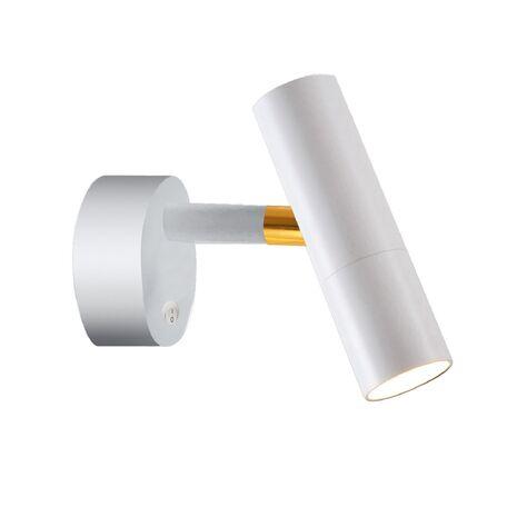 Настенный светодиодный светильник Favourite Tube 2108-1W, LED 5W, белый, металл