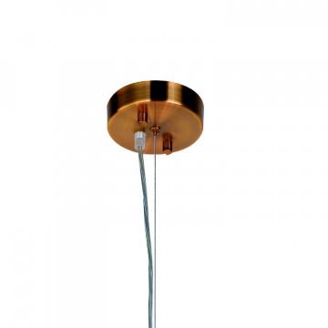 Подвесная люстра Favourite Fraction 2061-36P, 36xG9x3W, золото, дымчатый, металл, стекло - миниатюра 2