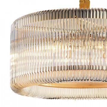 Подвесная люстра Favourite Negociant 2094-6P, 6xE14x40W, золото, прозрачный, металл, стекло - миниатюра 2
