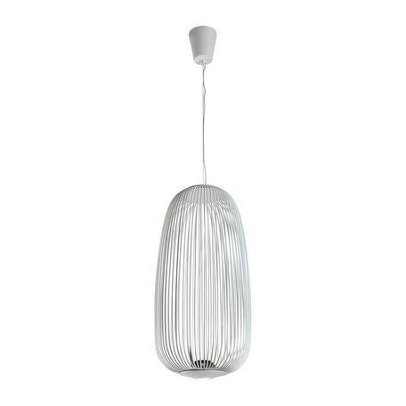 Подвесной светодиодный светильник Favourite Phantasm 2099-2P, LED 10W 3000K, белый, металл
