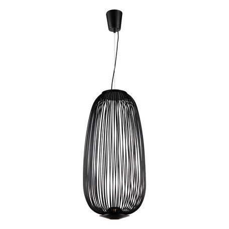 Подвесной светодиодный светильник Favourite Phantasm 2100-2P, LED 10W 3000K, черный, металл - миниатюра 1