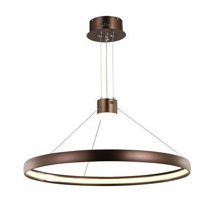 Подвесной светильник с пультом ДУ Favourite Saturn 2101-2P 3000K (теплый), коричневый, металл, пластик