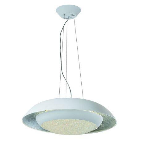 Подвесной светильник с пультом ДУ Favourite Spiegel 2115-2P 3000K (теплый), белый, серебро, металл, пластик