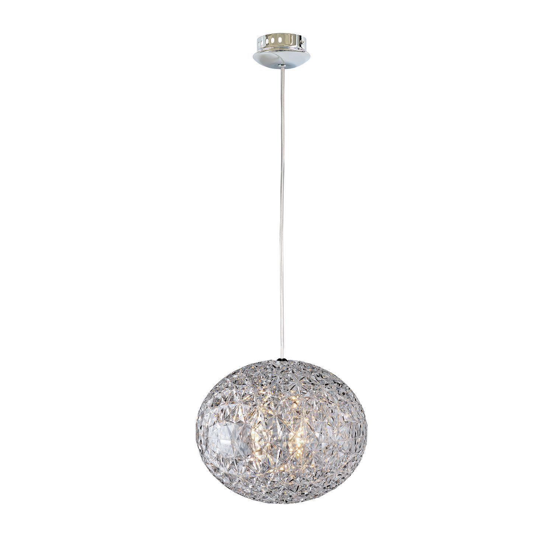 Подвесной светильник Favourite Versatility 2117-1P, 1xE27x25W, хром, прозрачный, металл, пластик - фото 1