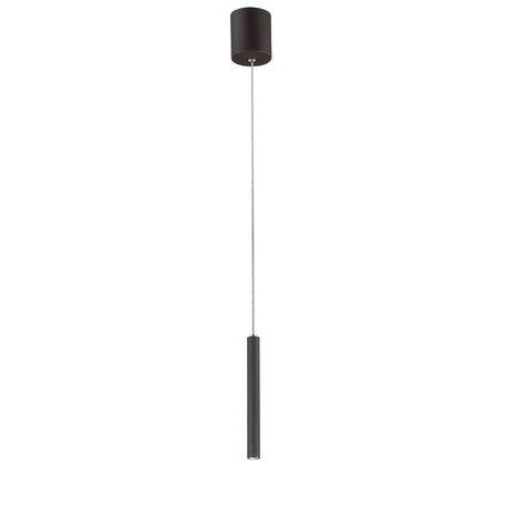 Подвесной светодиодный светильник Favourite Cornetta 2121-1P, LED 3W 3000K, черный, металл