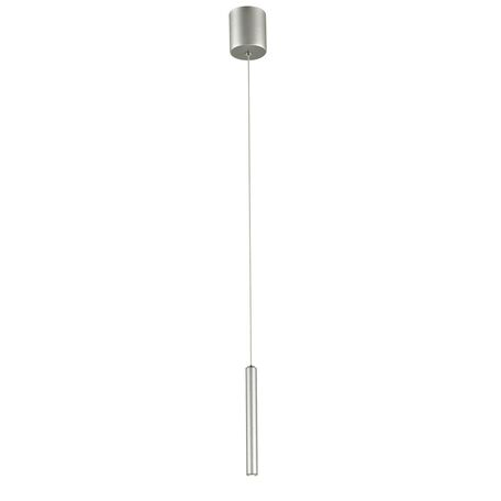 Подвесной светодиодный светильник Favourite Cornetta 2123-1P, LED 3W 3000K, серебро, металл