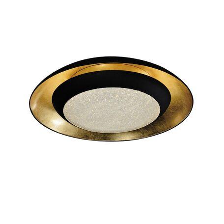 Потолочный светильник с пультом ДУ Favourite Spiegel 2114-2C 3000K (теплый), белый, матовое золото, черный, металл, пластик