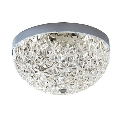 Потолочный светильник Favourite Versatility 2117-2C, 2xE27x25W, хром, прозрачный, металл, пластик