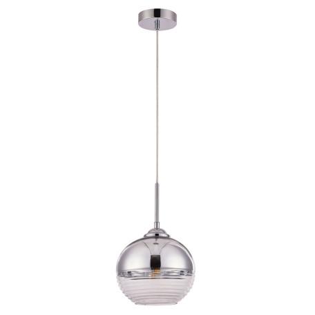 Подвесной светильник Arte Lamp Wave A7761SP-1CC, 1xE27x60W, хром, металл, стекло