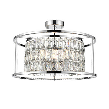 Потолочный светильник Vele Luce Debra 10095 VL3283P06, 6xE14x40W