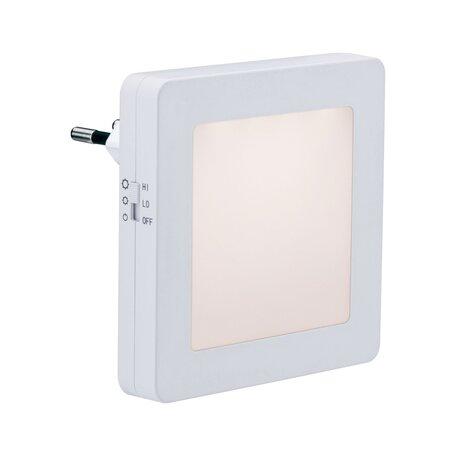 Штекерный светодиодный светильник-ночник Paulmann Hoglet 92493, LED, белый