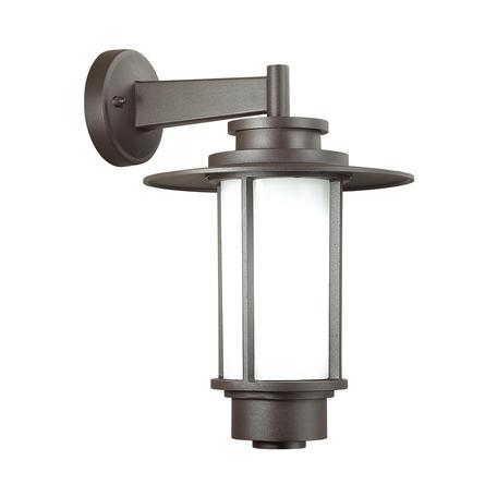 Настенный фонарь Odeon Light Nature Mito 4047/1W, IP54, 1xE27x18W, коричневый, металл, металл с пластиком - миниатюра 1