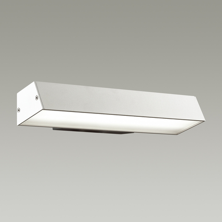 Настенный светодиодный светильник Odeon Light Piano 4014/14WL, LED 14W, 4000K (дневной), черный, белый, металл, пластик