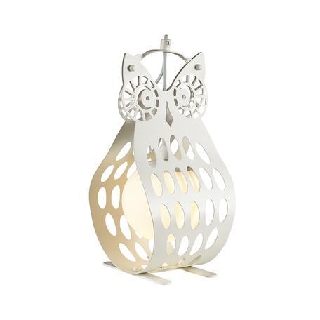 Настольная лампа Odeon Light Pendant Ulvin 4006/1T, 1xE27x60W, белый, металл, металл со стеклом