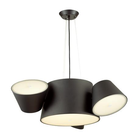 Подвесная люстра с регулировкой направления света Odeon Light Charlie 3990/4, 3xE14x40W +  6xG9x40W, черный, металл, стекло