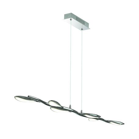 Подвесной светодиодный светильник Odeon Light Scoppa 3994/32L, хром, металл, пластик