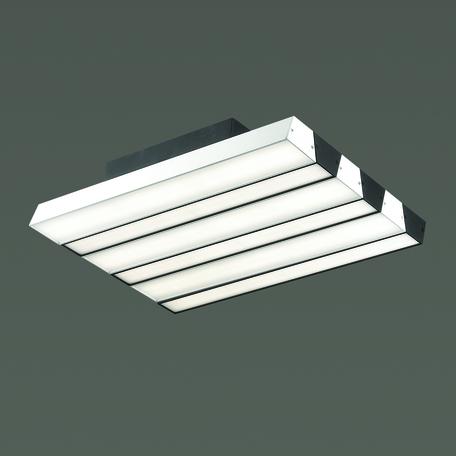Потолочный светодиодный светильник Odeon Light Piano 4015/71CL, LED 71W, 4000K (дневной), белый, черный, металл, пластик