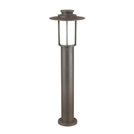 Садово-парковый светильник Odeon Light Nature Mito 4047/1F, IP54, 1xE27x18W, коричневый, металл, металл с пластиком