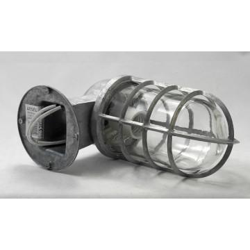 Бра Lussole Loft Thornton LSP-9988, IP21, 1xE27x60W, серый, прозрачный, металл, металл со стеклом - миниатюра 2