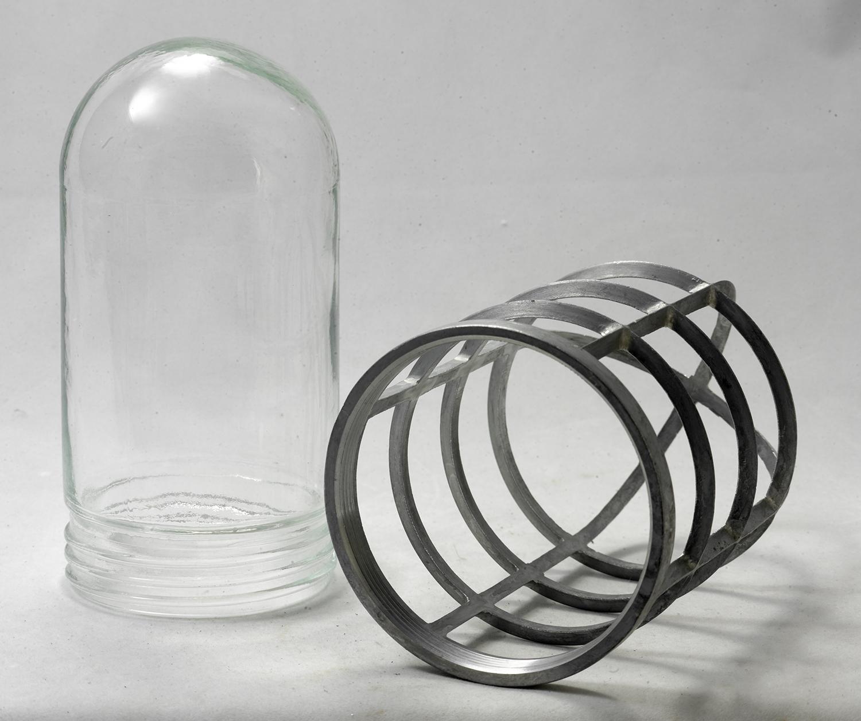 Бра Lussole Loft Thornton LSP-9988, IP21, 1xE27x60W, серый, прозрачный, металл, металл со стеклом - фото 3