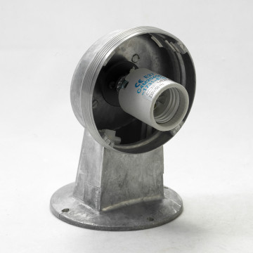 Бра Lussole Loft Thornton LSP-9988, IP21, 1xE27x60W, серый, прозрачный, металл, металл со стеклом - миниатюра 4