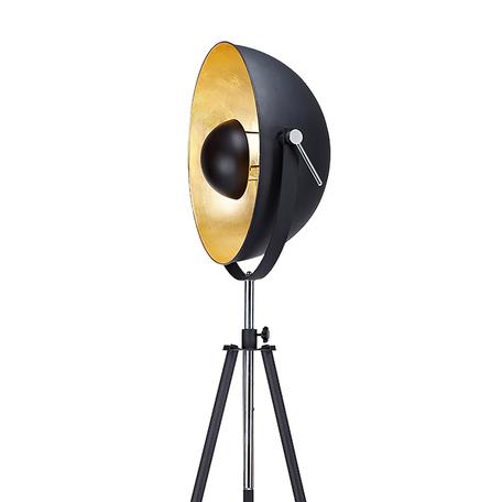 Торшер Lussole Loft Sherrelwood LSP-9824, IP21, 1xE27x60W, черный, металл
