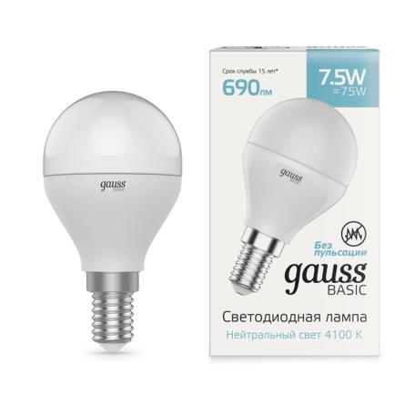 Светодиодная лампа Gauss 1053128