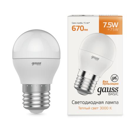 Светодиодная лампа Gauss 1053218