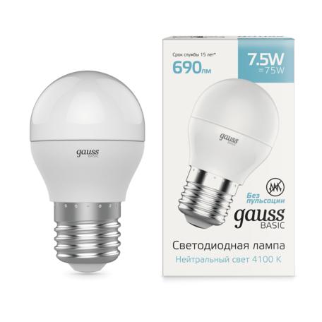 Светодиодная лампа Gauss 1053228