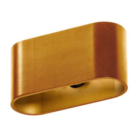 Настенный светильник Azzardo Vega AZ1746, 1xG9x40W, матовое золото, металл