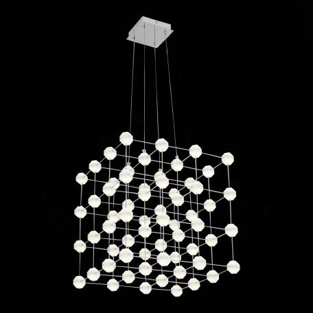 Подвесная светодиодная люстра ST Luce Atomo SL797.103.64 4000K (дневной), хром, белый, металл, пластик - миниатюра 2