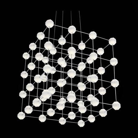 Подвесная светодиодная люстра ST Luce Atomo SL797.103.64, LED 38,4W 4000K, хром, металл - миниатюра 7