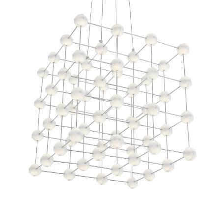 Подвесная светодиодная люстра ST Luce Atomo SL797.103.64 4000K (дневной), хром, белый, металл, пластик - миниатюра 9