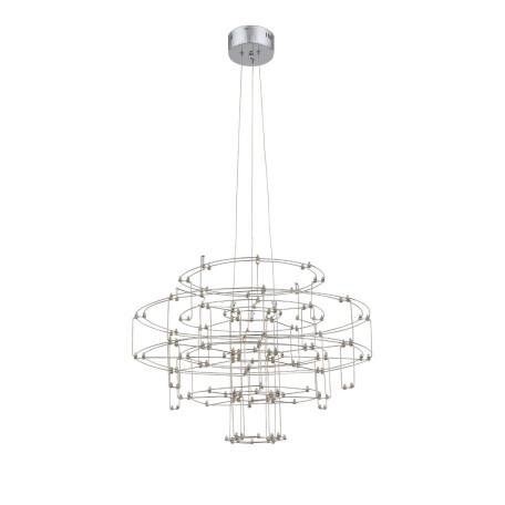 Подвесная светодиодная люстра ST Luce Genetica SL798.103.64, LED 13W 3200K, хром, металл