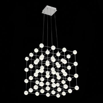 Подвесная светодиодная люстра ST Luce Atomo SL797.103.64, LED 38,4W 4000K (дневной) - миниатюра 5