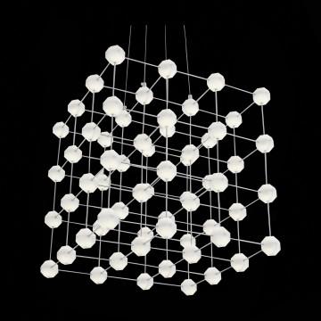 Подвесная светодиодная люстра ST Luce Atomo SL797.103.64, LED 38,4W 4000K (дневной) - миниатюра 6